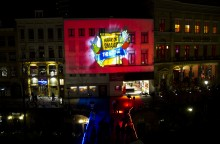 Maak de Smaak (Do Us A Flavor) Lay&#039;s Chip Projection Marketing Campaign