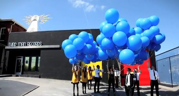Third Man Records Releases New Jack White Album Via Helium Balloon Guerrilla Marketing Photo
