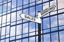 Sales &amp; Marketing business signpost