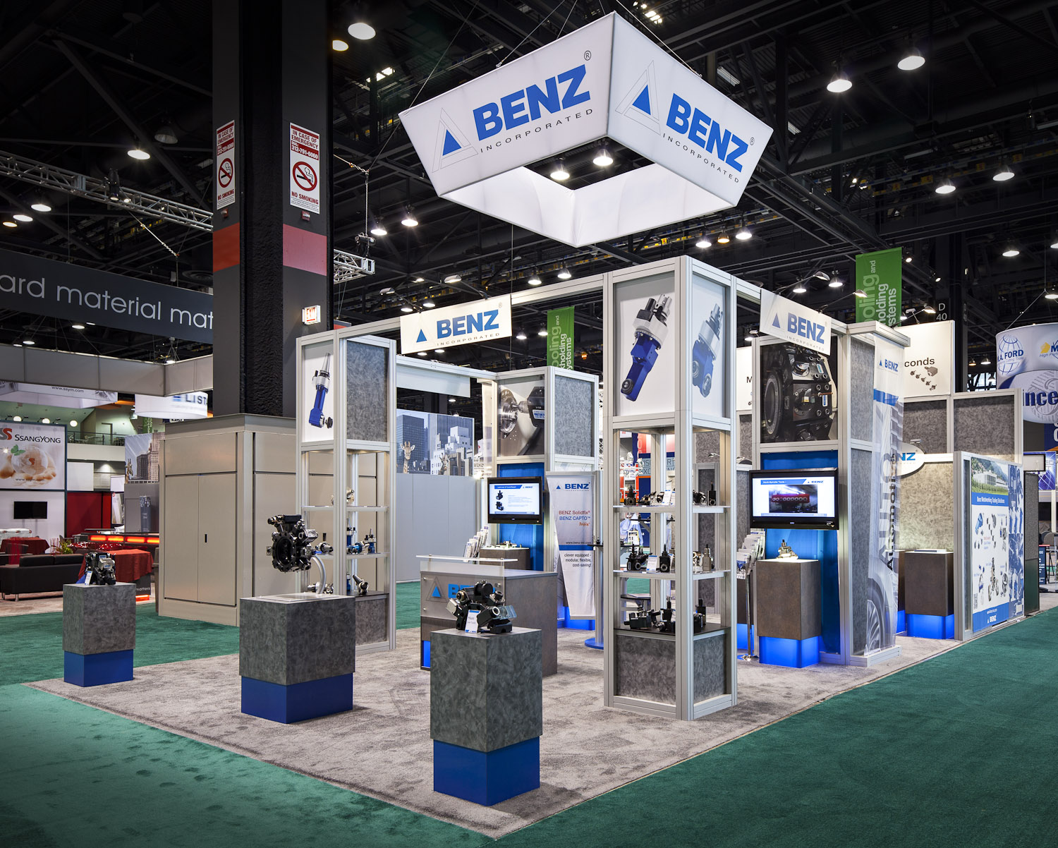 Top Trade Show Booth Designs of 2012