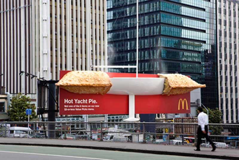 ambient advertising ideas