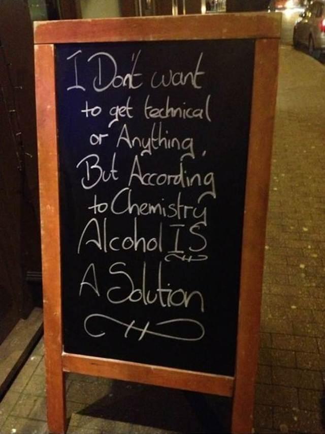 funny chalkboard signs 12