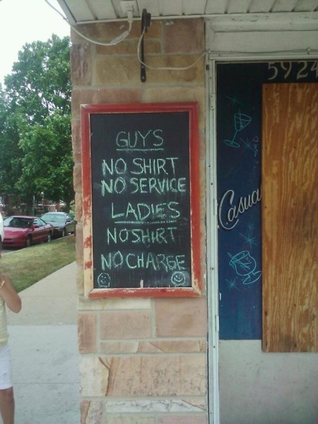 funny chalkboard signs 22