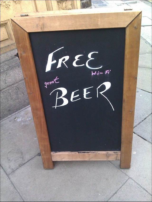 funny chalkboard signs 29