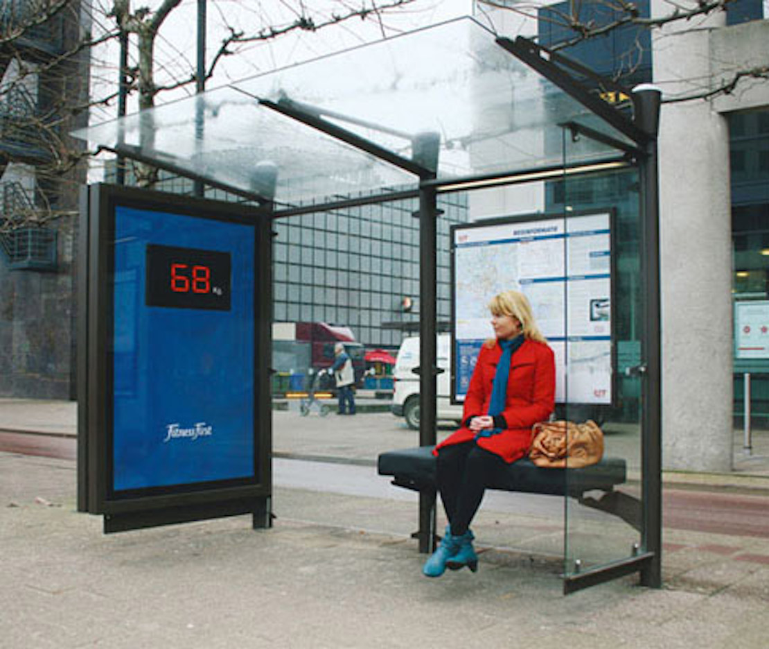 48 Fresh And Creative Bus Stop Advertisements That Will Blow Your Mind 1