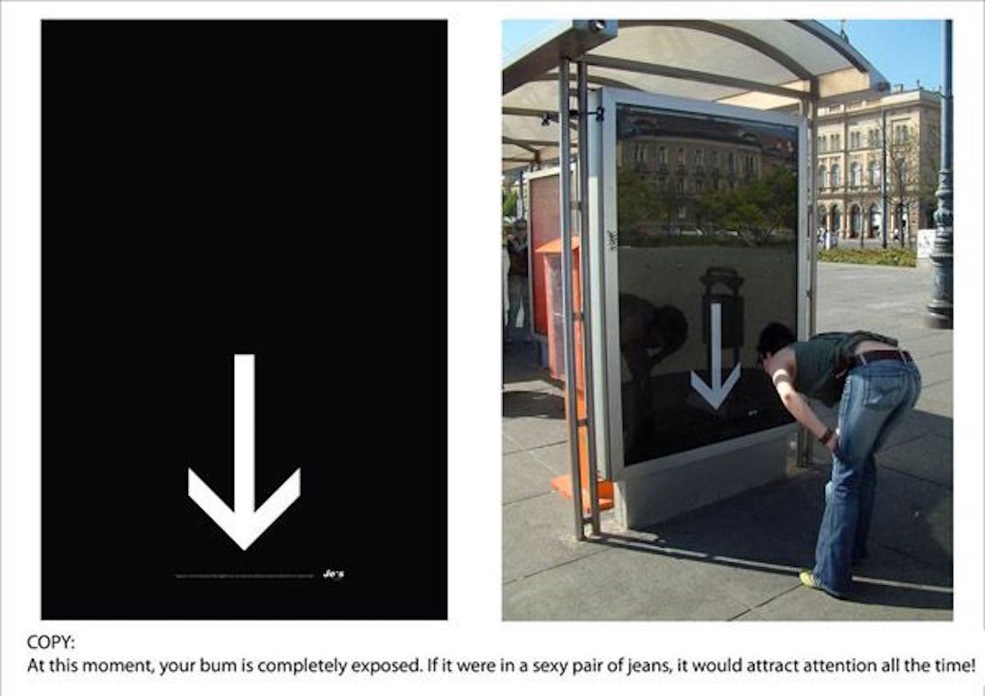 48 Fresh And Creative Bus Stop Advertisements That Will Blow Your Mind 11