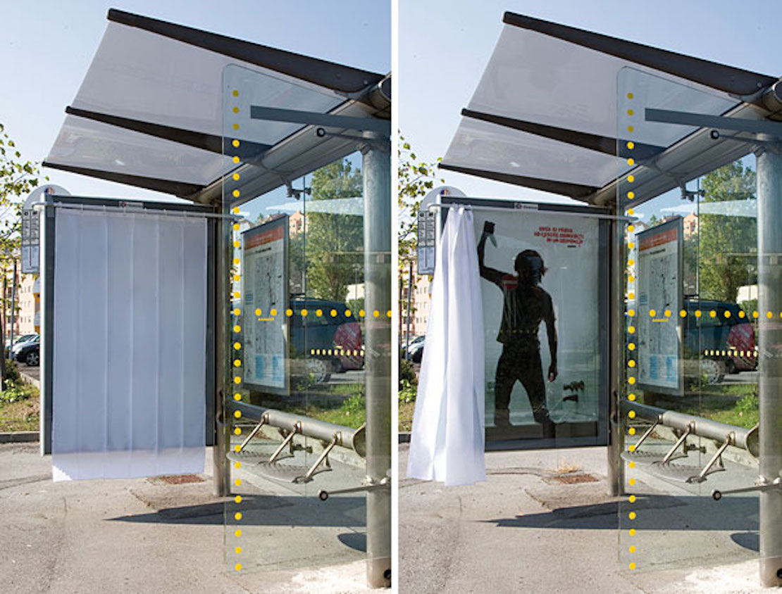 48 Fresh And Creative Bus Stop Advertisements That Will Blow Your Mind 14