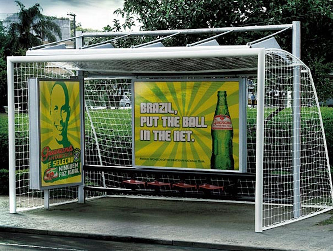 48 Fresh And Creative Bus Stop Advertisements That Will Blow Your Mind 20
