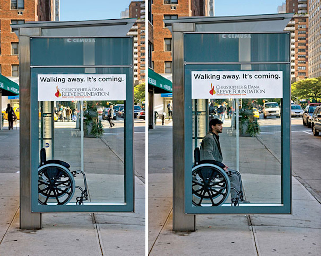 48 Fresh And Creative Bus Stop Advertisements That Will Blow Your Mind 25