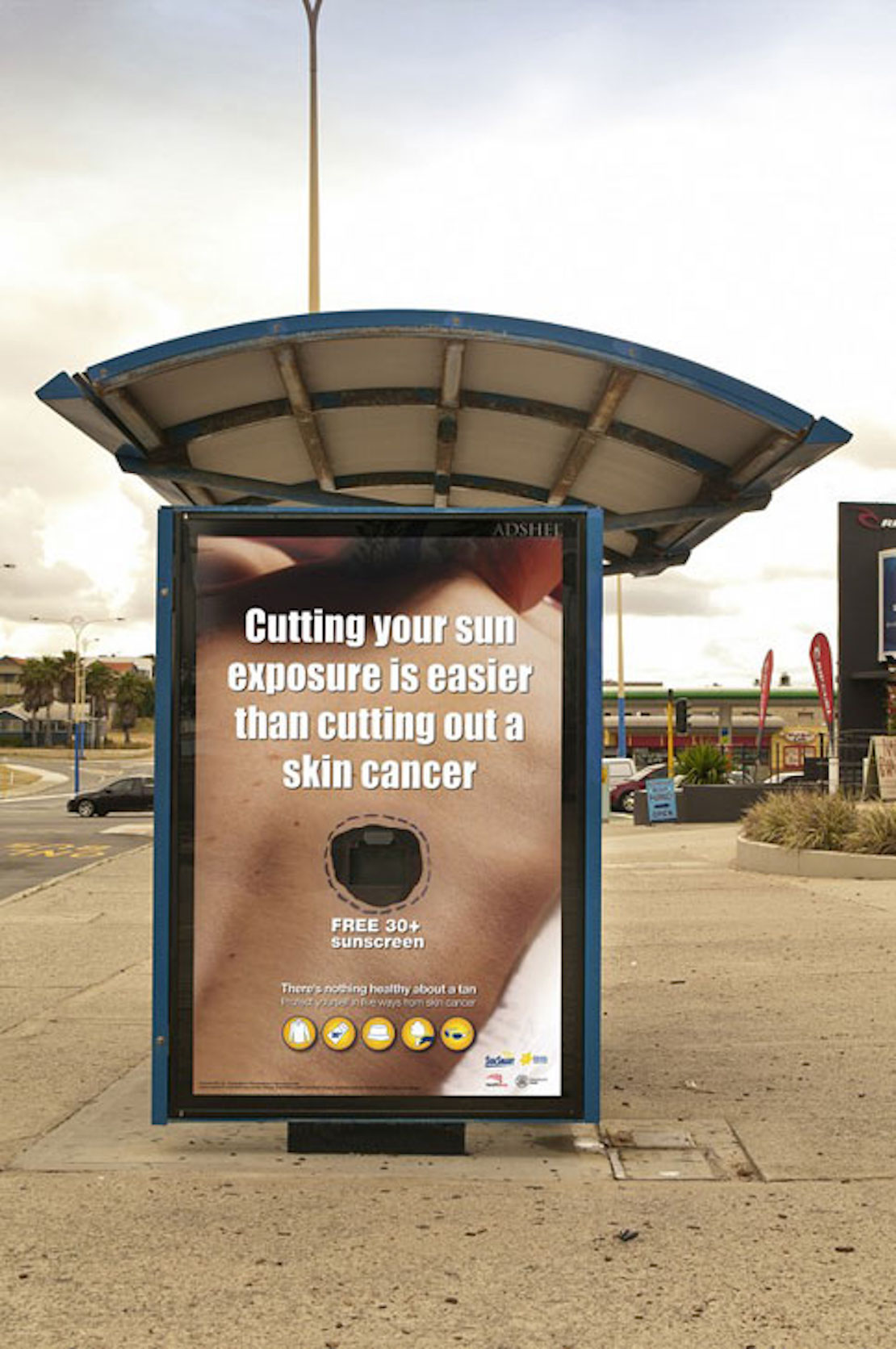48 Fresh And Creative Bus Stop Advertisements That Will Blow Your Mind 40