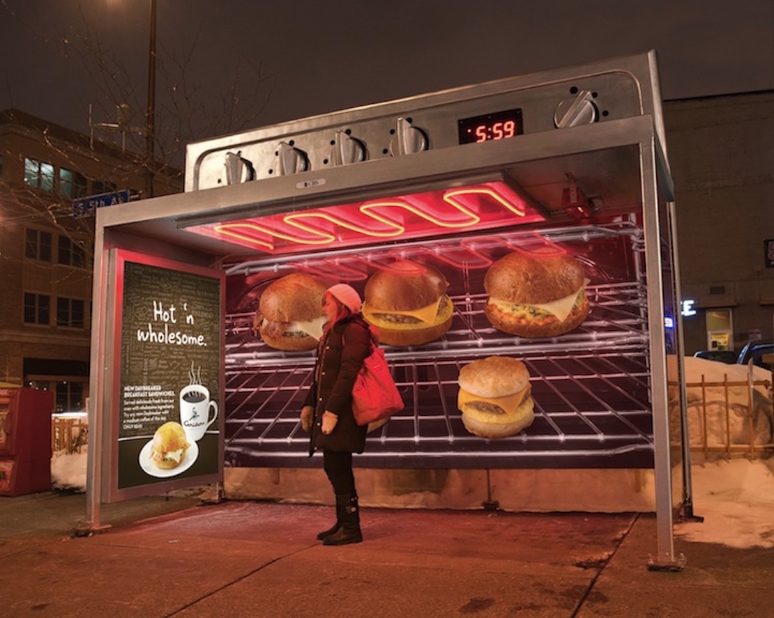48 Fresh And Creative Bus Stop Advertisements That Will Blow Your Mind 6