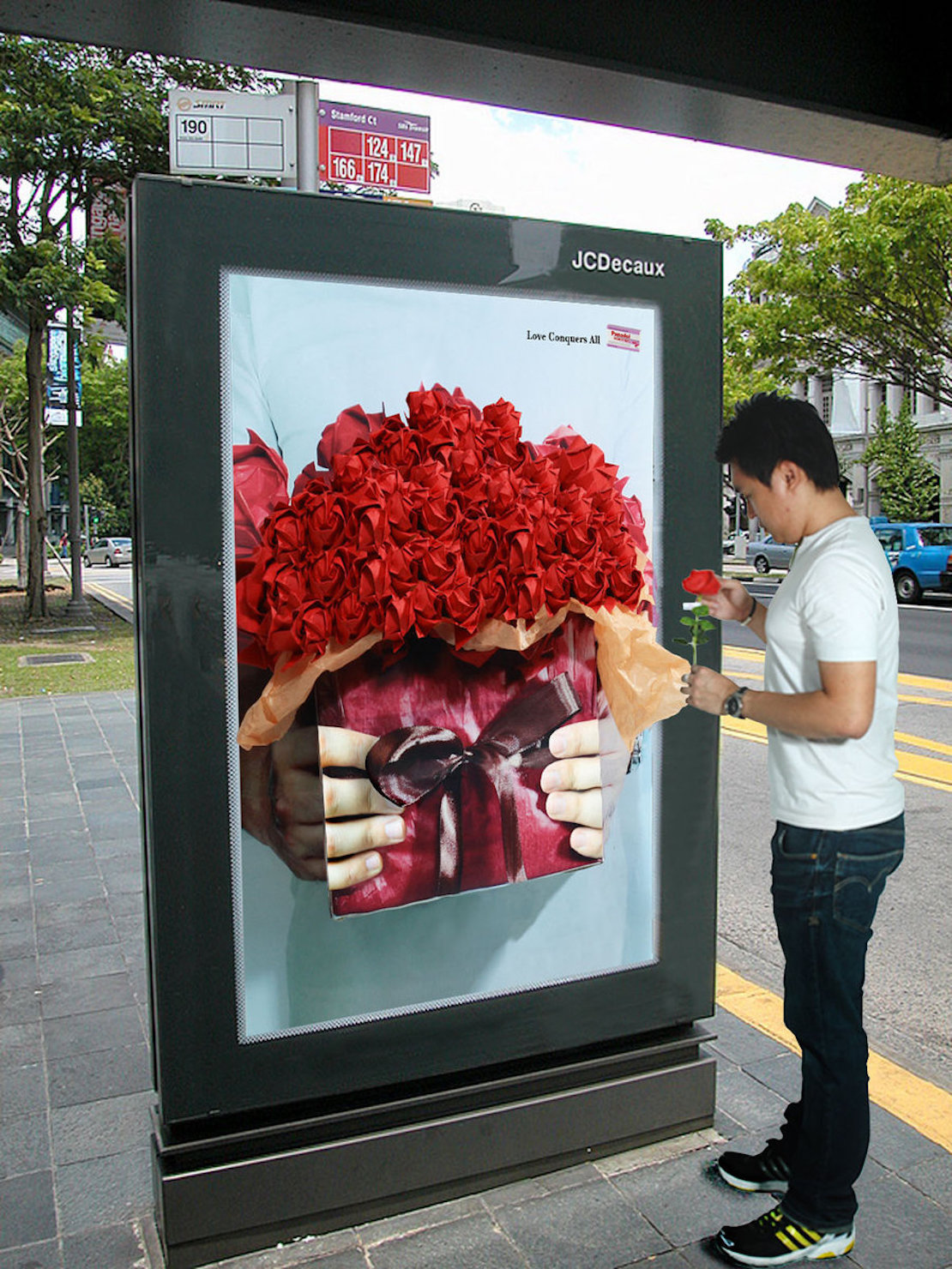 48 Fresh And Creative Bus Stop Advertisements That Will Blow Your Mind 7