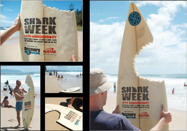 Guerrilla Marketing - Creative Attention Seeking - Discovery Channel