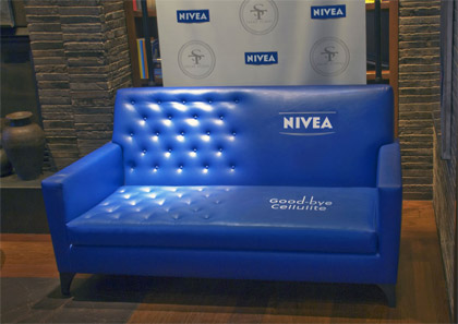 nivea guerilla marketing advertisement