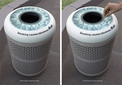 eye guerilla marketing advertisement