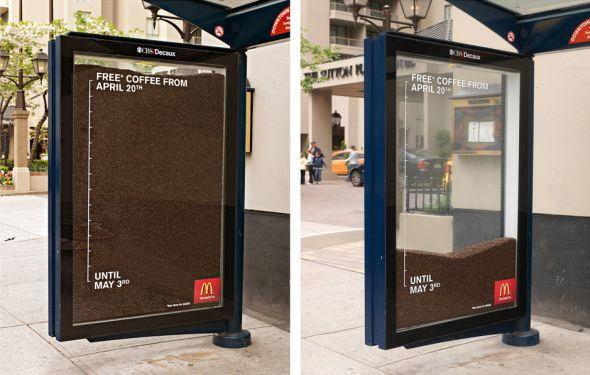 McDonald's: Bus stop