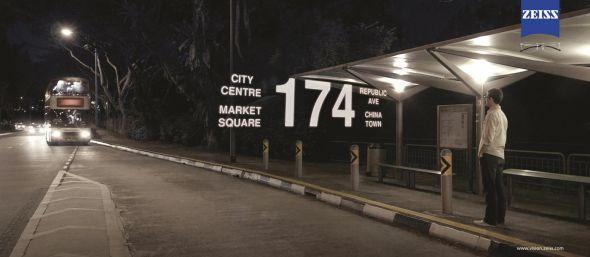 Carl Zeiss Lenses: Bus stop