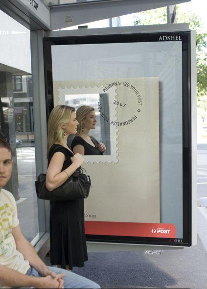 Australia Post: Bus stop