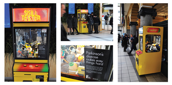 Guerrilla Marketing – Creative Attention Seeking #2 - Parkinsons Victoria