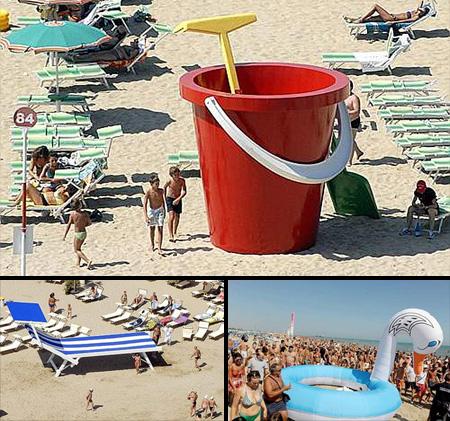 Giant Beach Items