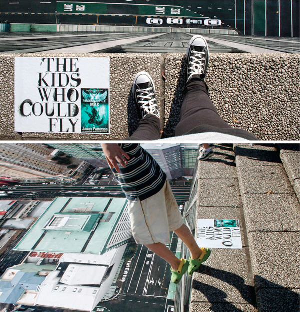 Guerrilla Marketing - Creative Attention Seeking - Maximum Ride