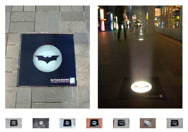 batman guerrilla marketing examples