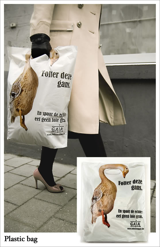 Gaia Animals Torture Guerrilla Marketing Example