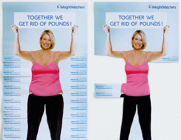 Guerrilla Marketing – Creative Attention Seeking #3 - Weight Watchers