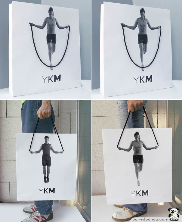 Creative Guerilla Marketing Examples of Bags