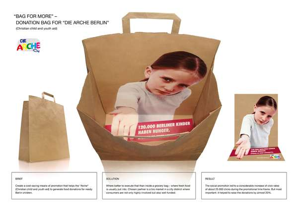 d2cd746bf70a4fb464f528d9ec231c16 45 Creativo Bagvertising Esempi Esempio Guerilla Marketing