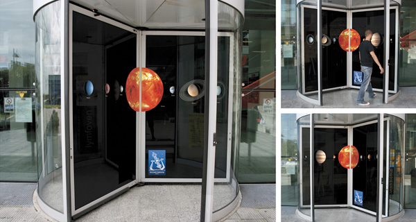 Guerrilla Marketing – Creative Attention Seeking #2 - Planetarium Prague