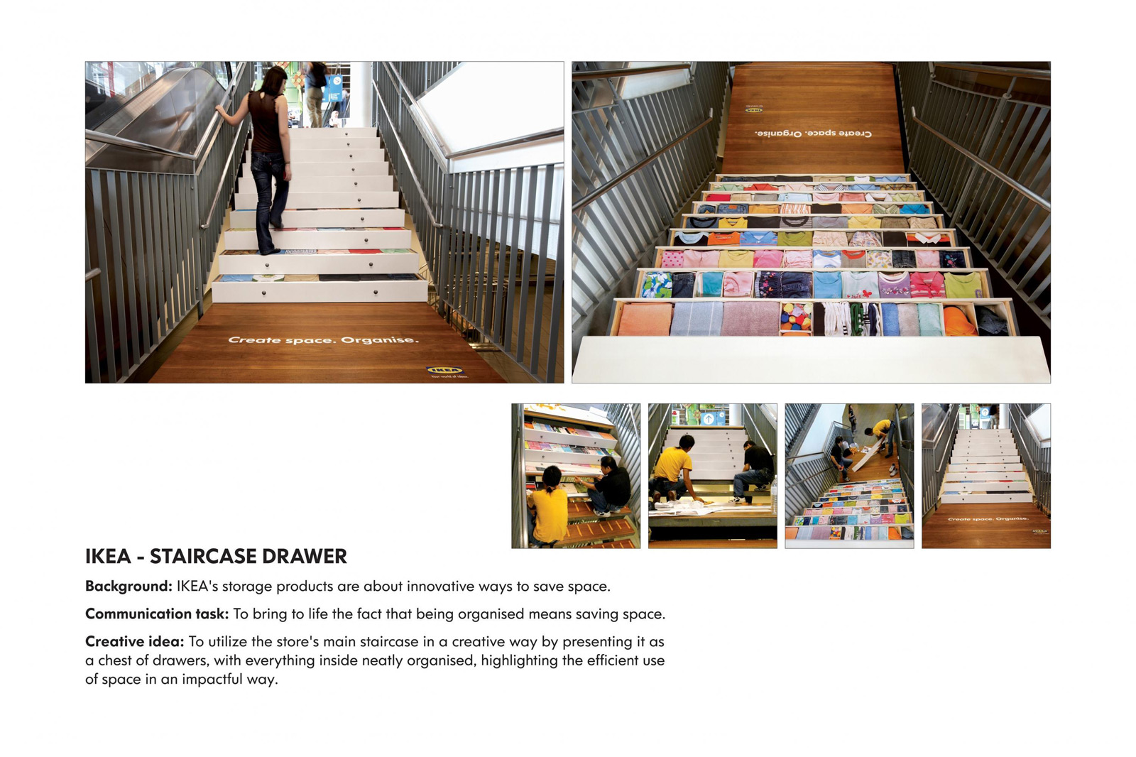 Ikea Staircase Guerrilla Marketing Example